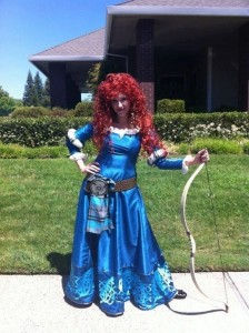 Merida Adult Costume