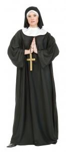 Nun Costume Plus Size