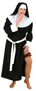 Nun Costume for Men