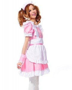 Pink French Maid Costume