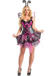 Plus Size Butterfly Costume
