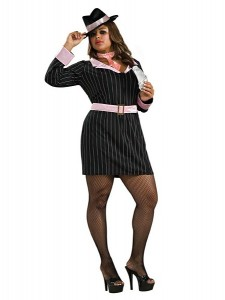 Plus Size Gangster Costumes