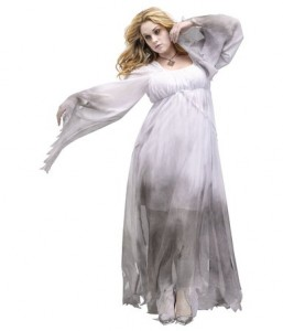 Plus Size Ghost Costume