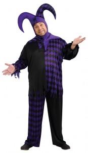 Plus Size Jester Costume