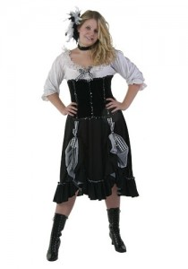 Plus Size Saloon Girl Costumes