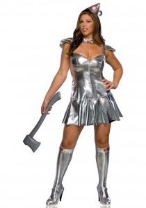 Plus Size Tin Man Costume