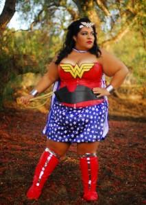 Plus Size Wonder Woman Costume