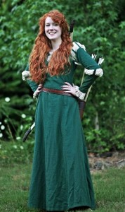 Princess Merida Costume Adult