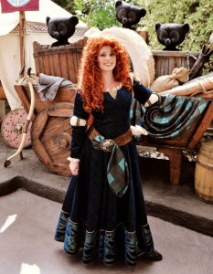 Princess Merida Costume for Adults