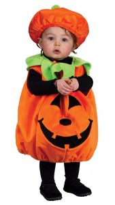Pumpkin Costume for Toddler