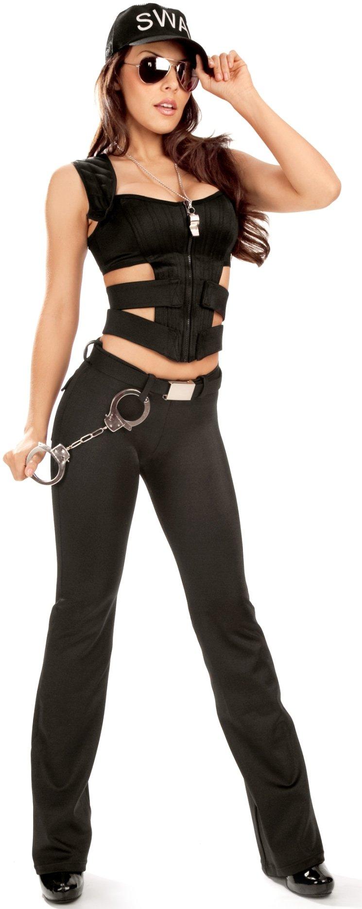 0b2c85c29dc Ladies Swat Costume & SWAT Womens Costume Sc 1 St Costumes FC