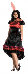 Saloon Girl Costume Plus Size