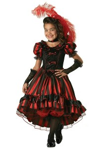 Saloon Girl Costume for Kids