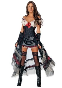 Saloon Girl Halloween Costume