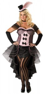 Saloon Girl Plus Size Costume