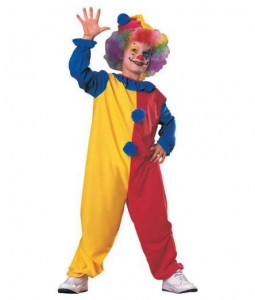 Scary Clown Costumes Kids
