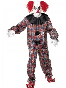 Scary Clown Costumes for Adults
