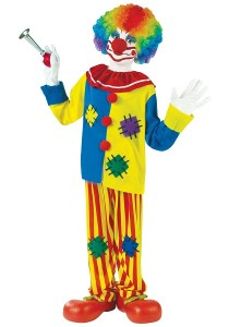Scary Clown Costumes for Boys
