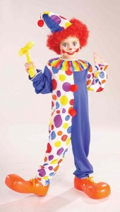 Scary Clown Costumes for Kids