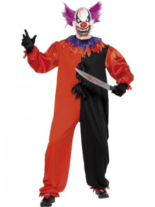 Scary Clown Costumes for Men