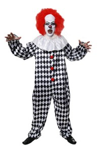 Scary Clown Kids Costume