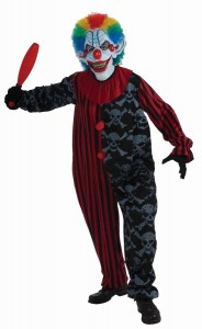 Scary Halloween Clown Costumes