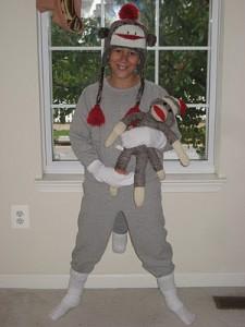 Sock Monkey Costume Pattern