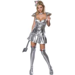 Tin Man Girl Costume