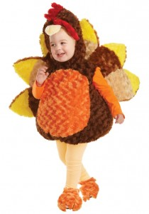 Turkey Costume Baby