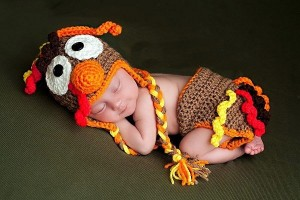 Turkey Costume for Babies