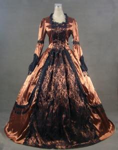 Victorian Ball Gown Costume