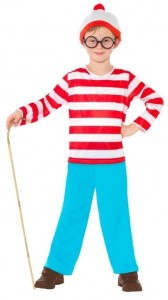 Waldo Costume for Kids