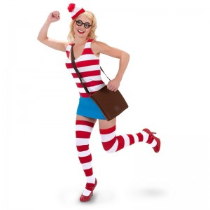 Waldo Girl Costume