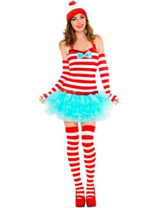 Wheres Waldo Girl Costume