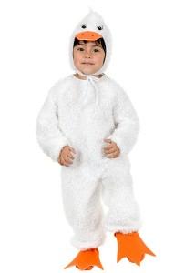 White Duck Costume