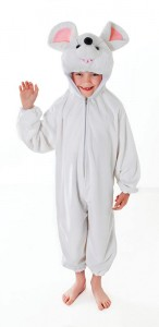 White Mouse Costume