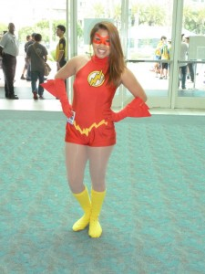 Womens Flash Costume
