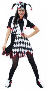 Womens Jester Costume