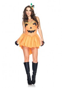 Womens Pumpkin Costume