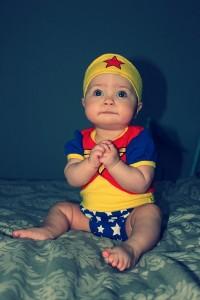 Wonder Woman Baby Costume