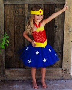 Wonder Woman Costume Child