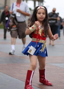 Wonder Woman Costume Girl
