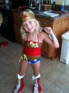 Wonder Woman Costume Girls
