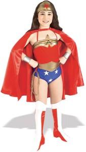 Wonder Woman Girl Costume