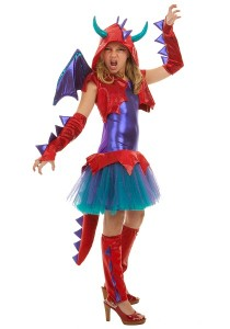 Girl Dragon Costume