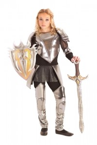 Girl Knight Costume