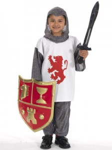 Knight Costume Kid