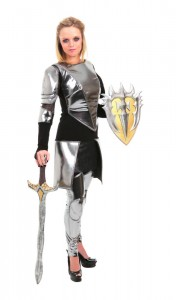 Lady Knight Costume